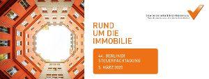 Berliner Steuerfachtagung 5.3.2020